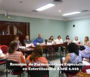 Reunión de Farmacéuticos Especialistas de Esterilización