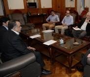 Reunión con el vicegobernador Osvaldo Jaldo