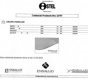 sancor ostel_credencial