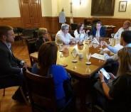Reunión con el Ministerio de Economía