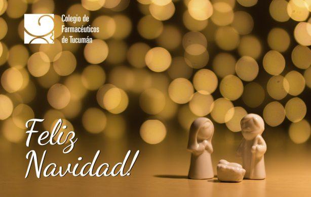 Les deseamos una muy Feliz Navidad a la comunidad farmacéutica!