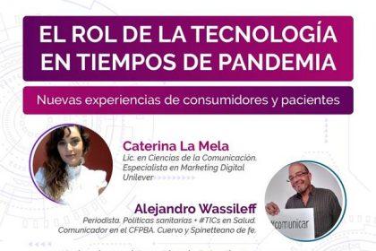 """Conferencia: El rol de la Tecnología en tiempos de pandemia"""""""