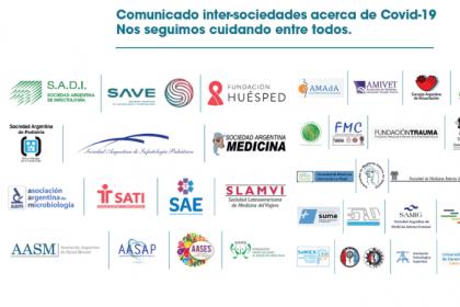 Comunicado inter-sociedades sobre COVID-19