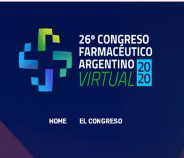26° Congreso Farmacéutico Argentino Virtual 2020